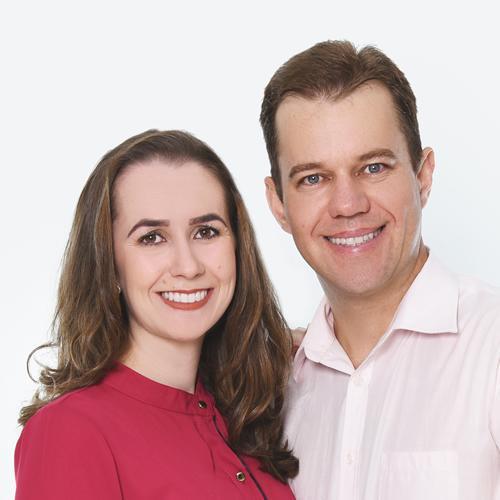 Kelli Cristina Scherer e Leomar André Thiel – diretores da Revista PAZ EDITORIAL